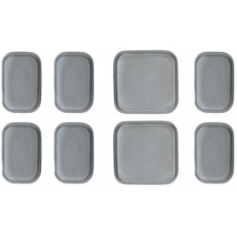 Lancer Tactical Airsoft Tactical CP AF Protective Helmet Pad Set - GRAY
