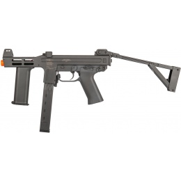 Lancer Tactical Spectre CQB Airsoft AEG Submachine Gun - BLACK
