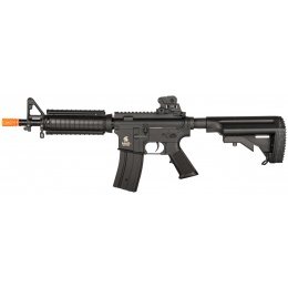Lancer Tactical Airsoft M4 AEG Rifle w/ Crane Stock - BLACK