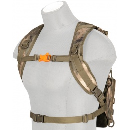 Lancer Tactical Lightweight Airsoft Hydration Pack (Polyster) - AT-FG