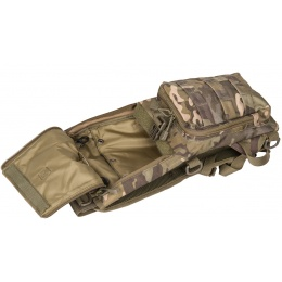 Lancer Tactical Lightweight Airsoft Hydration Pack - CAMO TROPIC