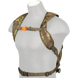 Lancer Tactical Lightweight Airsoft Hydration Pack - PC GREEN