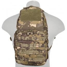 Lancer Tactical Airsoft MOLLE Hydration Backpack - CAMO TROPIC