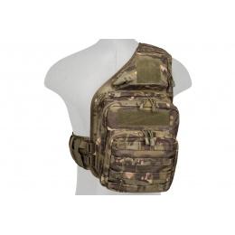 Lancer Tactical Airsoft Messenger Utility Shoulder Bag (Color: Camo Tropic)