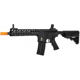 Lancer Tactical LT-14C Airsoft M4 AEG Rifle - BLACK
