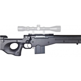 Well Airsoft L96 Compact Sniper Rifle - Bolt Action - BLACK