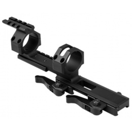NcStar 30mm Cantilever Scope Mount w/ Dual QR Mount - BLACK