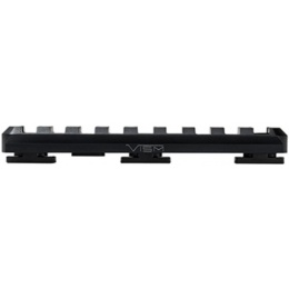 NcStar M-LOK Tactical Picatinny Rail Medium - BLACK