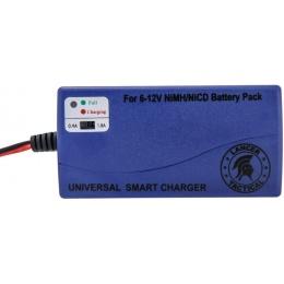 Lancer Tactical Premium Battery Smart Charger for 6-12V NiMH/NICD