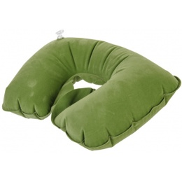 Lancer Tactical Inflatable Travel Neck Support Pillow - GREEN