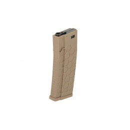 Dytac Airsoft M4/M16 Series AEG 120rd Hex Magazine - DARK EARTH