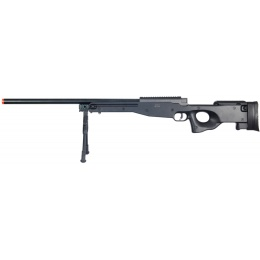 Well Airsoft L96 AWP Bolt Action Rifle w/ Bipod - BLACK