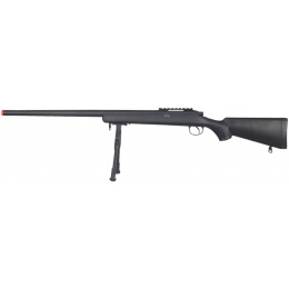 Well Airsoft VSR-10 Bolt Action Rifle w/ Bipod - BLACK