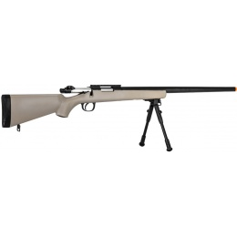 Well Airsoft VSR-10 Bolt Action Rifle w/ Bipod - TAN