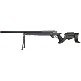 Well Airsoft Bolt Action L96 Rifle w/ Bipod - BLACK