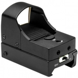 NcStar Airsoft Tactical Micro Reflex Red Dot Sight 2 MOA - BLACK