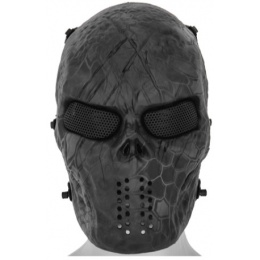 UK Arms Airsoft Full Face Metal Mesh Villain Mask - TYP