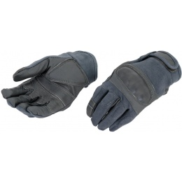 Airsoft Tactical Hard Knuckle Gloves - MEDIUM - FOLIAGE