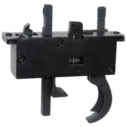 WellFire Airsoft L96 Bolt Action Rifle Trigger Unit - BLACK