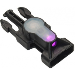 FMA MIL-SPEC Side Release Buckle Strobe Light - PINK LED - BLACK