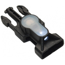 FMA MIL-SPEC Side Release Buckle Strobe Light - WHITE LED - BLACK