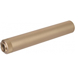 UK Arms Airsoft Specwar-II F38X228.6mm Mock Suppressor - DARK EARTH
