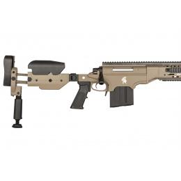 Lancer Tactical LTR338L Bolt Action Rifle w/ Folding Stock - TAN
