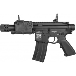 Lancer Tactical M4 LT-708 Stubby AEG Airsoft Rifle - BLACK