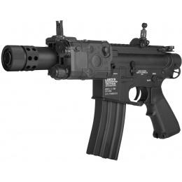 Lancer Tactical M4 LT-708 Stubby AEG Airsoft Rifle - BLACK
