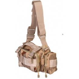 UK Arms Airsoft Tactical QR Combat Butt Pack - DESERT CAMO