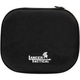 Lancer Tactical 16 Piece Pistol Cleaning Kit EVA Box - BLACK