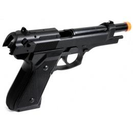 HFC M92F Heavyweight Airsoft Spring Pistol w/ SlideLock (Color: Black)
