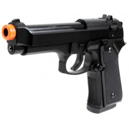 HFC M92F Heavyweight Airsoft Spring Pistol w/ SlideLock - BLACK