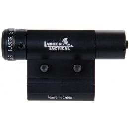 Lancer Tactical CA-430G Red Laser Aiming Dot Sight w/ Barrel Mount