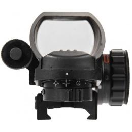 Lancer Tactical 4 Pattern Reticle Reflex Sight w/ Laser - BLACK