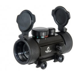 Lancer Tactical Airsoft Tactical B-Style Red/Green Dot Sight - BLACK