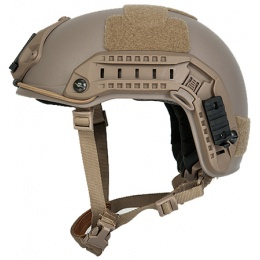Lancer Tactical Airsoft Tactical Maritime Helmet - DARK EARTH