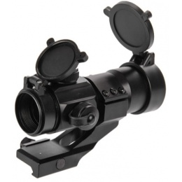 Lancer Tactical Airsoft Tactical Red/Green Dot Optic Sight - BLACK