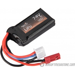 Lancer Tactical Airsoft 7.4V LiPo 300mAh Compact 25C Battery