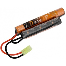 Lancer Tactical Airsoft NiMH 8.4V 1600 mAh Nunchuck Battery