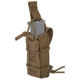 Lancer Tactical Airsoft Single Pistol Magazine Pouch - DARK EARTH