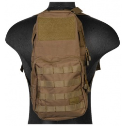 Lancer Tactical Airsoft MOLLE Hydration Backpack - KHAKI