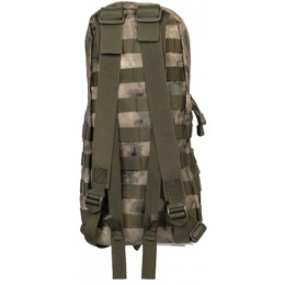 Lancer Tactical Airsoft MOLLE Hydration Backpack - FOLIAGE GREEN