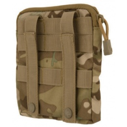 Lancer Tactical Airsoft MOLLE Admin Medical EMT Pouch - CAMO