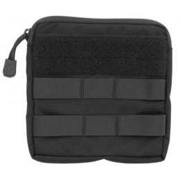 Lancer Tactical Airsoft MOLLE Admin Medical EMT Pouch - BLACK