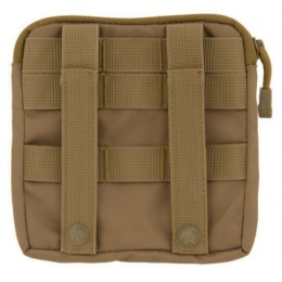 Lancer Tactical MOLLE Admin Medical EMT Pouch - COYOTE BROWN