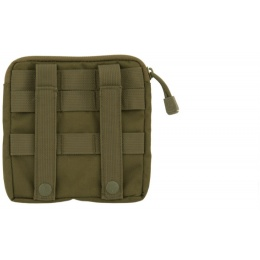 Lancer Tactical Airsoft MOLLE Admin Medical EMT Pouch - OLIVE DRAB