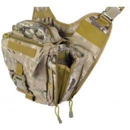 Lancer Tactical Airsoft Messenger Utility Bag - CAMO