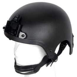 Lancer Tactical IBH Recon Helmet w/ NVG Shroud - BLACK