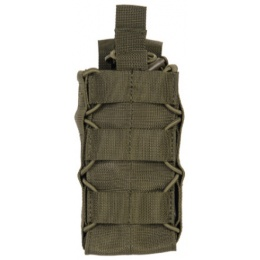 Lancer Tactical Radio/Canteen Retention Taco Pouch - OLIVE DRAB